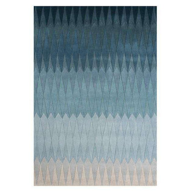 Acacia blue rug by Linie Design