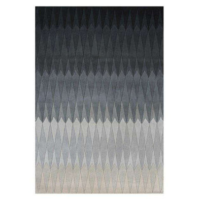 Acacia black rug by Linie Design