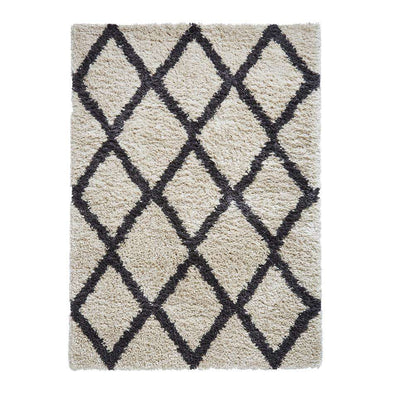 Auckland AK01 Cream/ Anthracite Rug