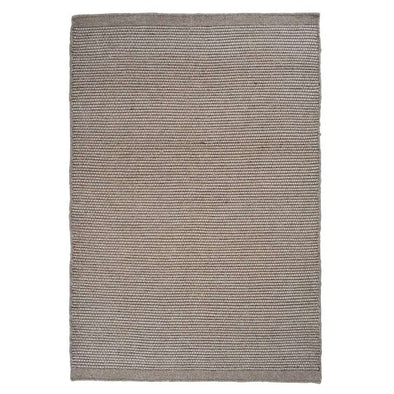Grey Asko rug by Linie Design