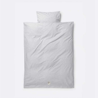 Hush Light Grey Bedding