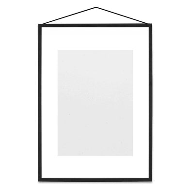 Moebe Transparent Frame A5/A4/A3 – Black