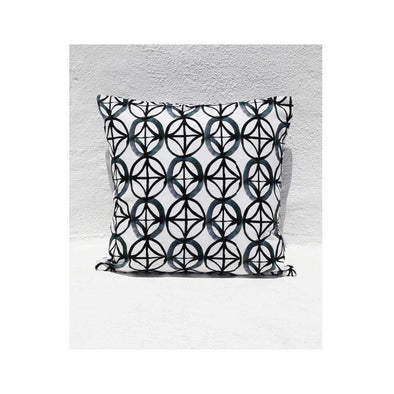 Black Star Cushion