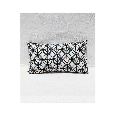 Black Star Long Cushion