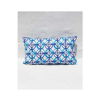 Blue Star Long Cushion