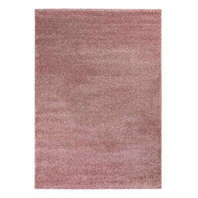 Sleek Blush Pink Rug