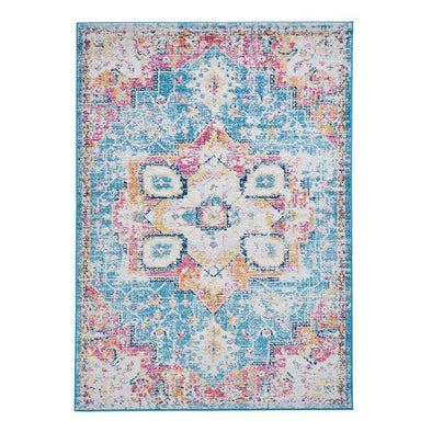 Boston G0532 Blue Fuschia Rug