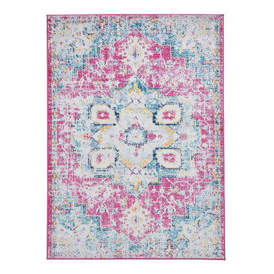 Boston G0532 Fuschia Blue Rug