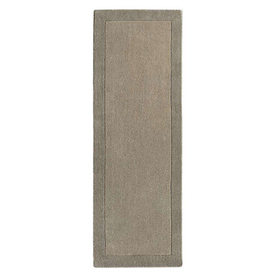 Borders Taupe Runner