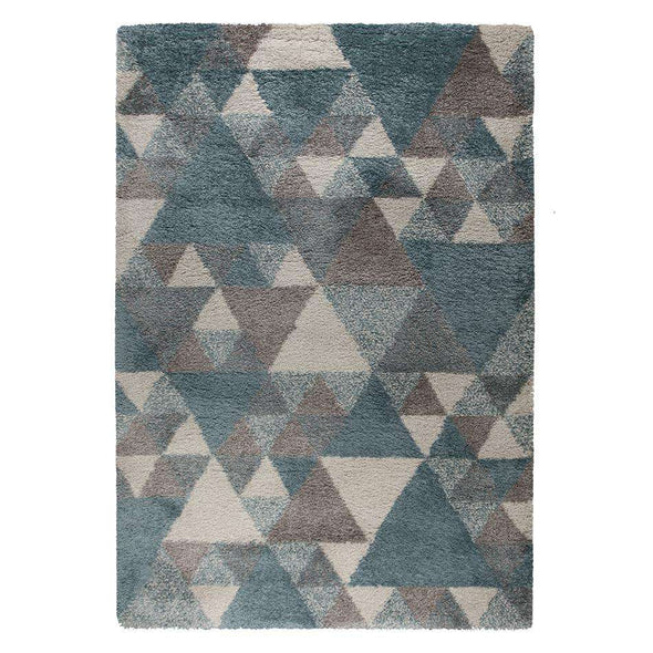 Dakari Nuru Blue/ Cream/ Grey Rug