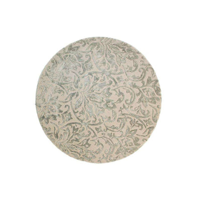 Mayfair Dorchester Grey Beige Round