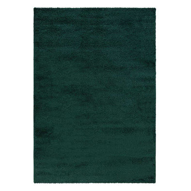 Sleek Forest Green Rug