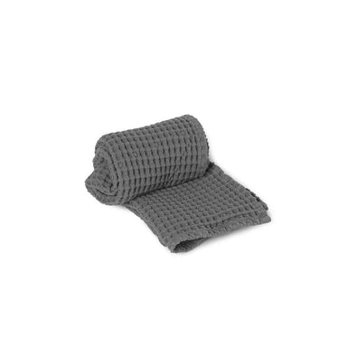 Organic Hand Towel Grey
