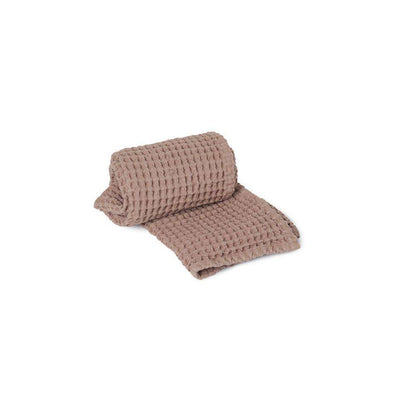 Organic Hand Towel Dusty Rose