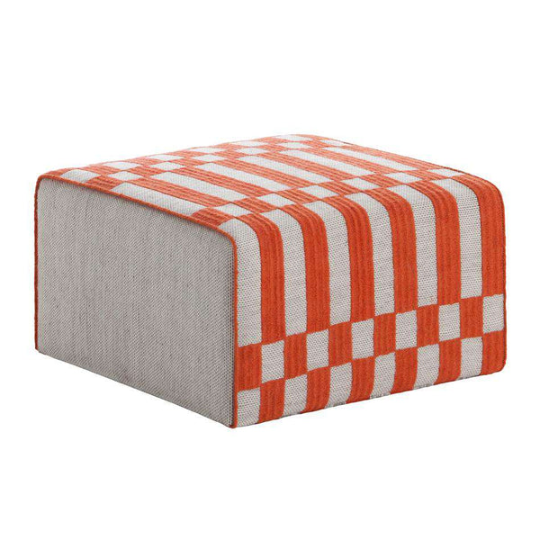 Bandas Small Pouf B Orange