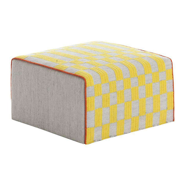 Bandas Small Pouf B Yellow