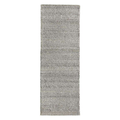 Chunky Knit Grey Runner