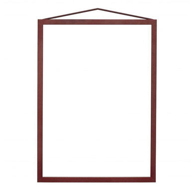 Moebe Transparent Frame A5/A4 – Dark Red