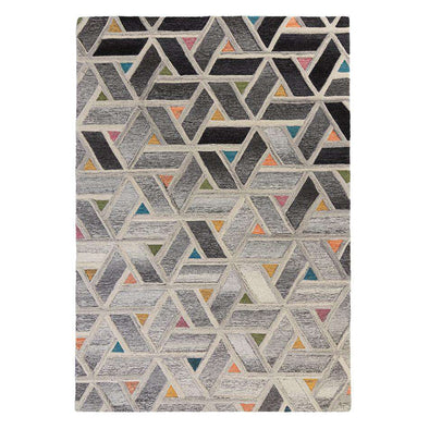 Moda River Grey/ Multi Rug