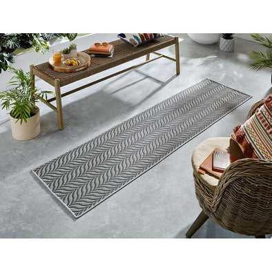 Florence Alfresco Sicily Grey Runner