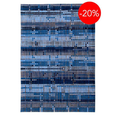 Mad Men Sky Scraper 8426 Blue Rugs