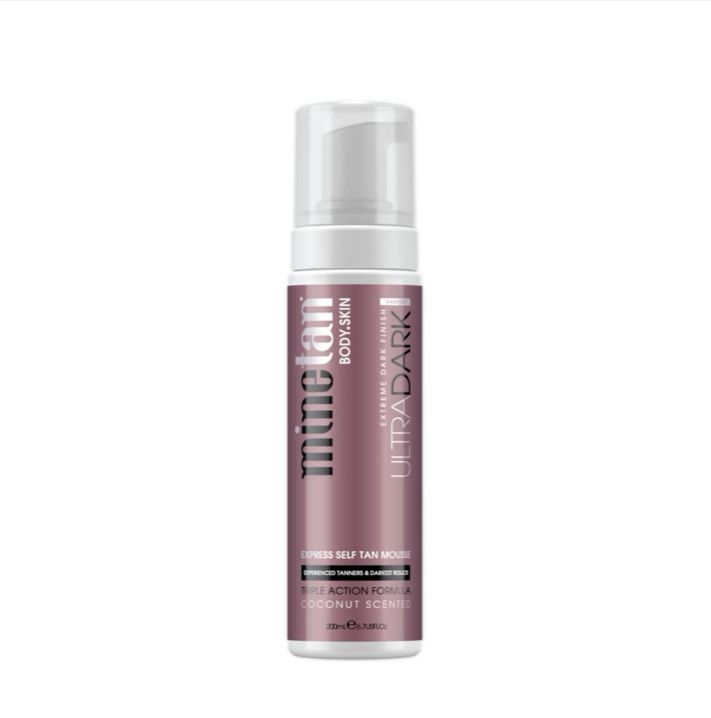 MineTan | Ultra Dark Express Self Tan Mousse