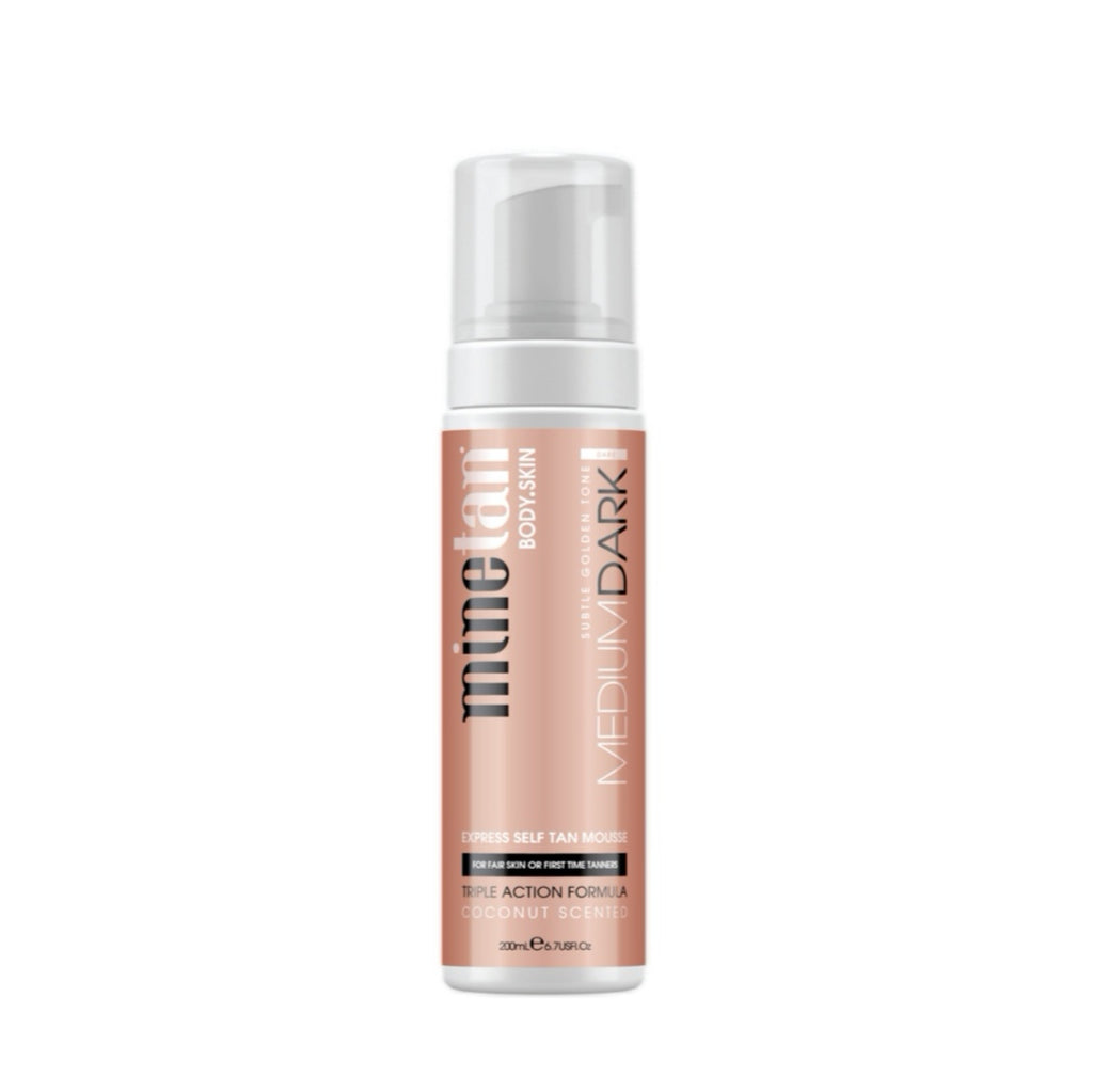 MineTan | Medium Dark Express Self Tan Mousse