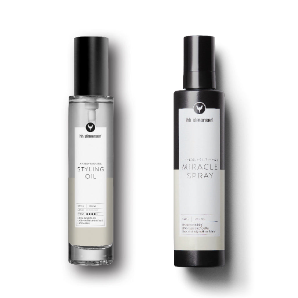 HH Simonsen | Double Care: Styling Oil + Miracle Spray