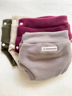 Side snap fleece covers