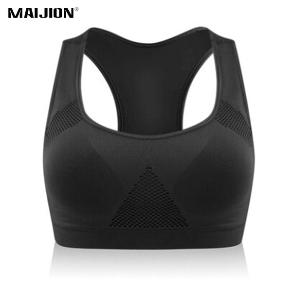 Plus Size Stretch Breathable Sports Bra
