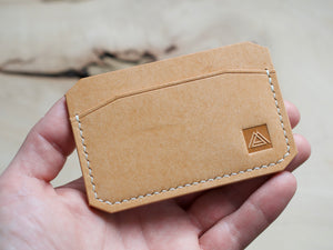Dryad - 3 Pocket Card Wallet - Badalassi Carlos Pueblo Leather (Bone)