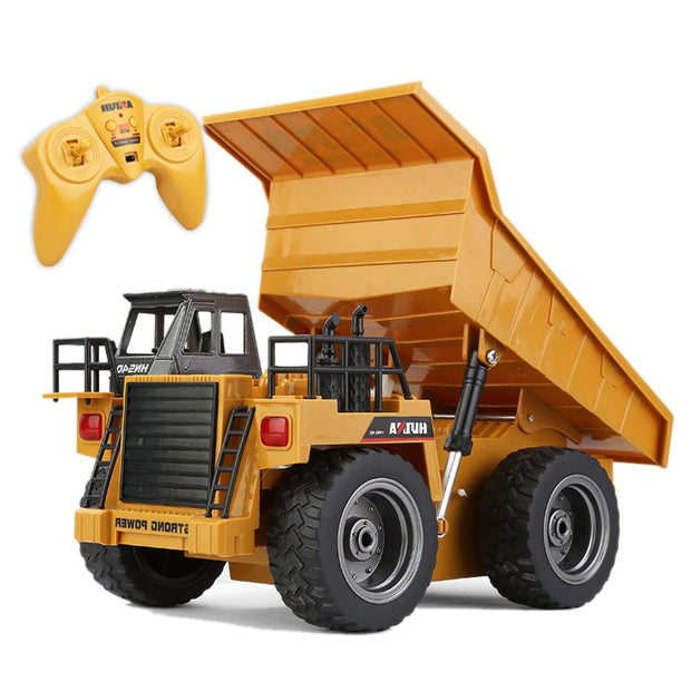 Metal Dump Trucks Remote Control RTR With Charging Batter