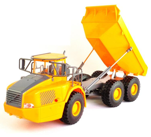 Big Dump Truck Engineering Vehicles Loaded Sand Car with LED & Remote Control