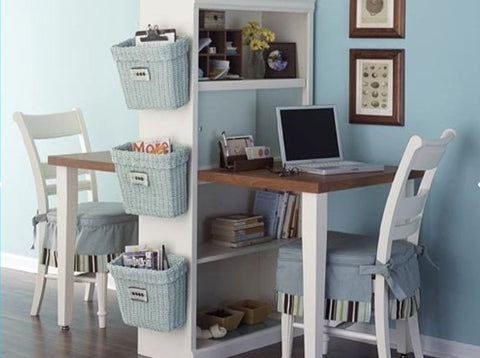 Homework area for school kids - Organised - Personalised