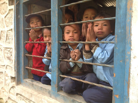 Children at school in Nepal