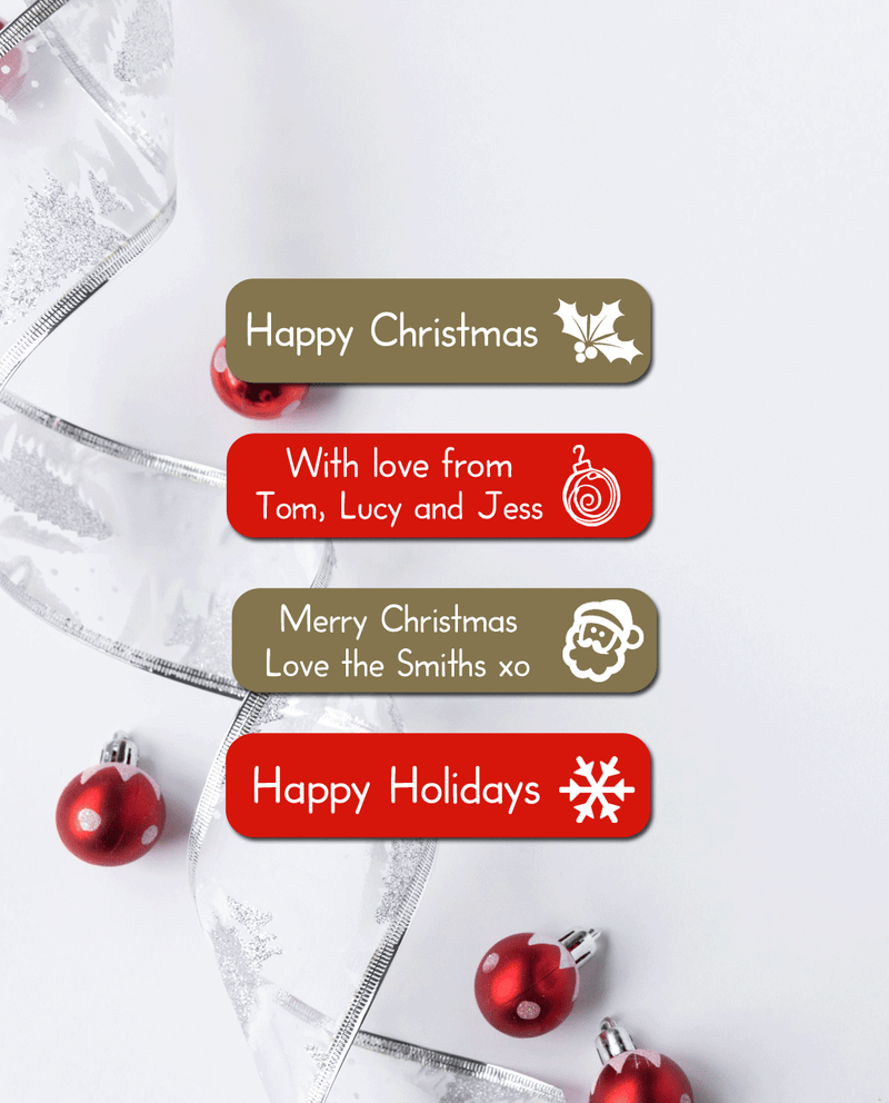 Christmas Stickers - Large