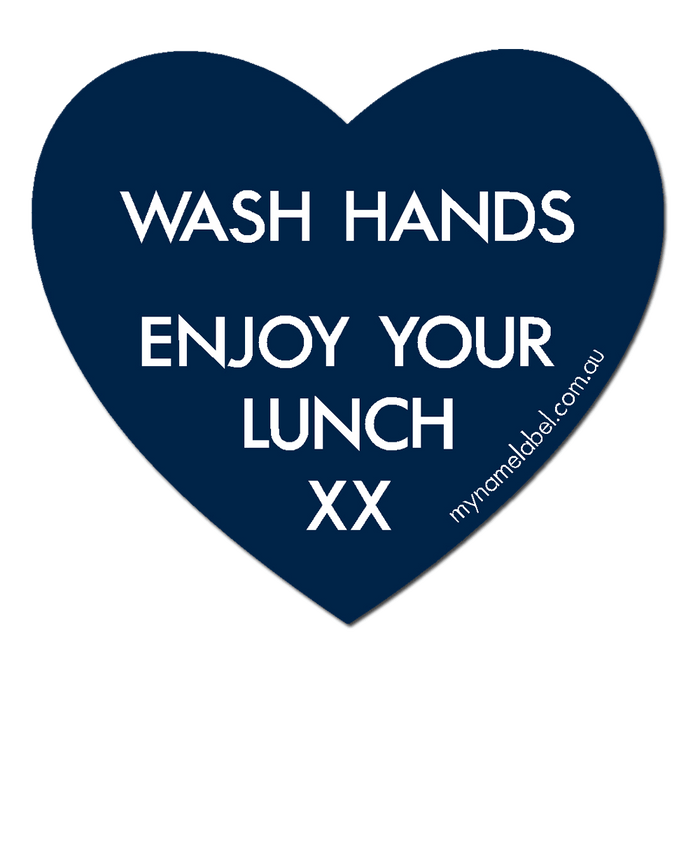 Lunchbox Hearts - Navy