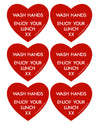 Lunchbox Hearts - Red