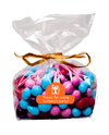 Bag of party sweet with thank you label