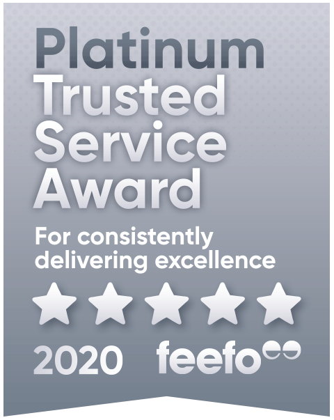 Feefo Trusted Service Award