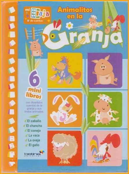 Animalitos en la Granja - Books