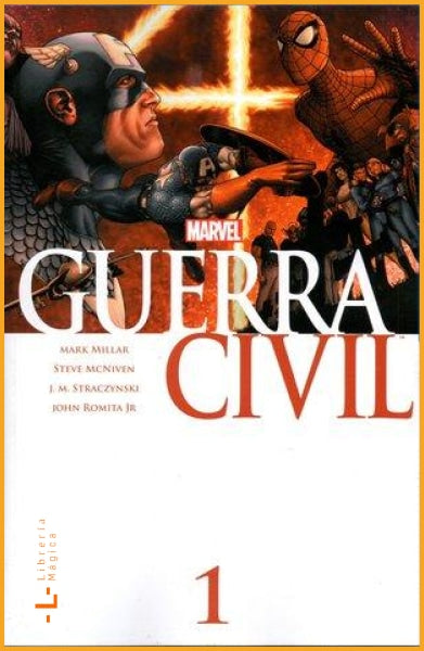 Guerra Civil Vol.1 - Book