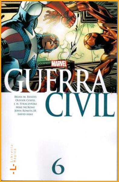 Guerra Civil Vol.6 - Book