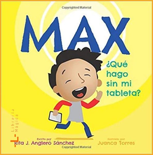 Max: Que hago sin mi tableta (Spanish - Book