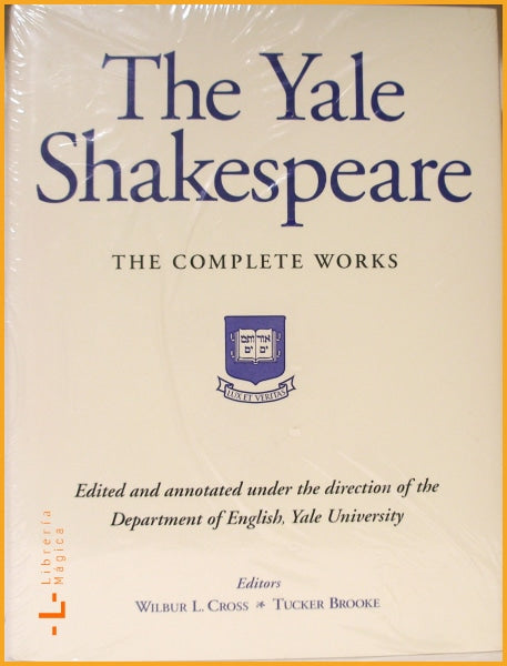 The Yale Shakespeare The Complete Works Hardcover - Books