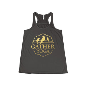Gather Gold Yoga Ladies Yoga Wear