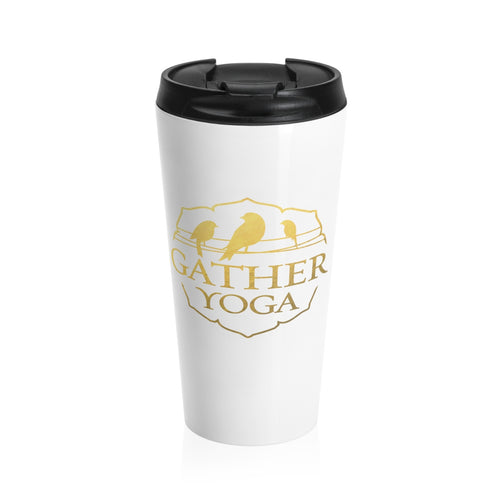Gather Gold Stainless Steel Travel Mug