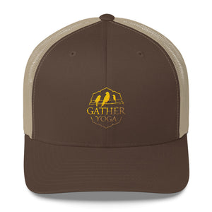 Gather Gold Trucker Cap