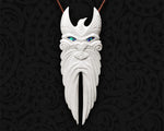 maori necklace bone carving rehua