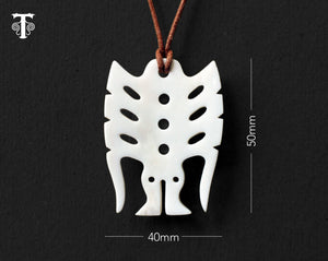 Maori Necklace | Frigate Bird Pendant